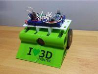 3D打印的迷你小车