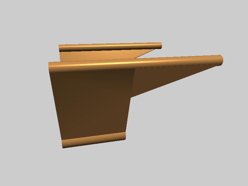 FLASHFORGE 耗材导向支架-3d打印模型