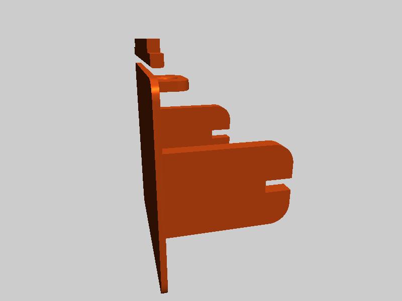 FLASHFORGE 焊锡线轴架-3d打印模型