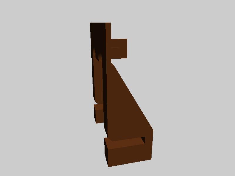 FLASHFORGE 光学传感器支架-3d打印模型