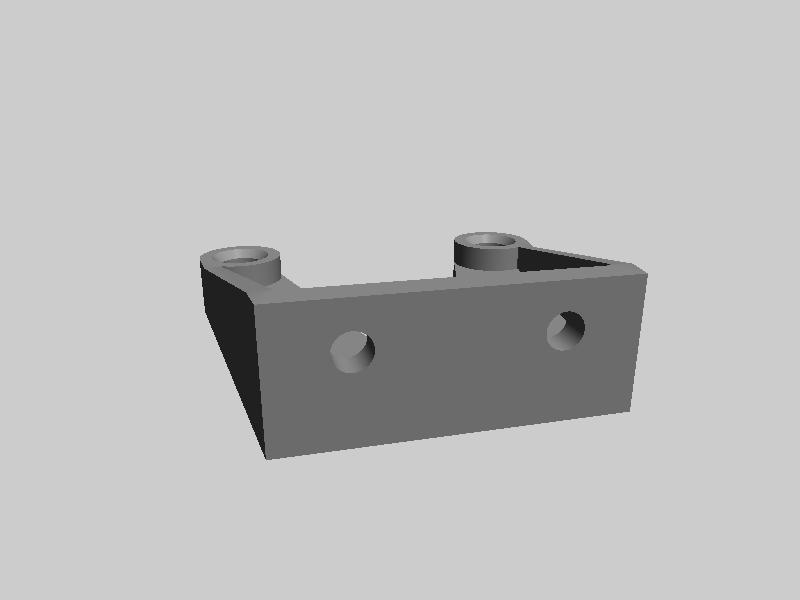 FLASHFORGE 耗材导板-3d打印模型