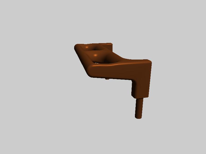 FLASHFORGE  耗材导向框-3d打印模型