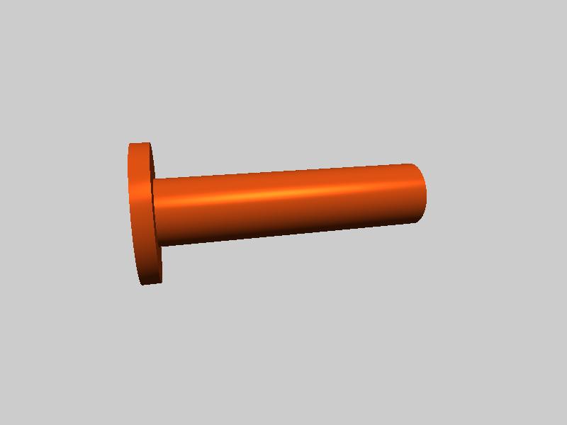 FLASHFORGE 滚轮缩放别针  -3d打印模型