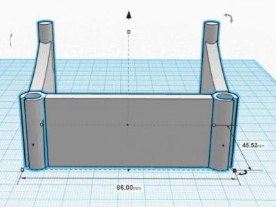 FLASHFORGE 耗材导向管夹-3d打印模型