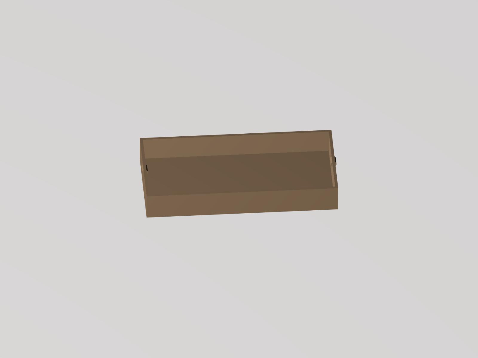 Lulzbot 带槽式快速接头的干燥剂箱